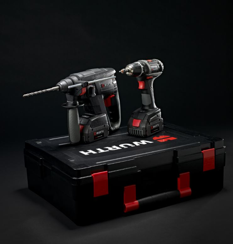 Nouveau coffret Marteau Perforateur H 18-MA Compact et Visseuse BS 18-A