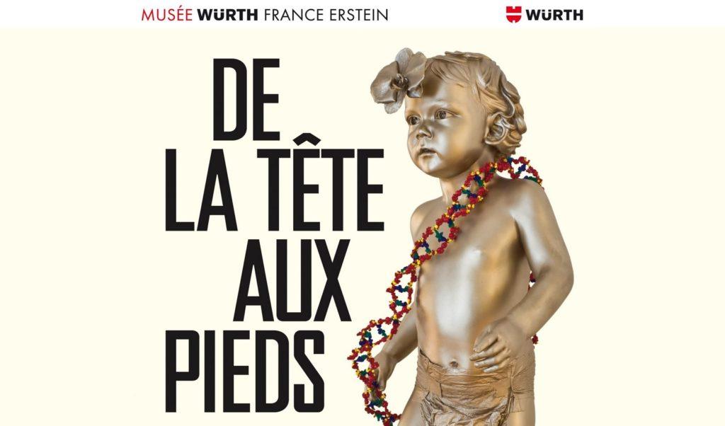 En ce moment au Musée Würth : l'exposition «De la tête aux pieds»