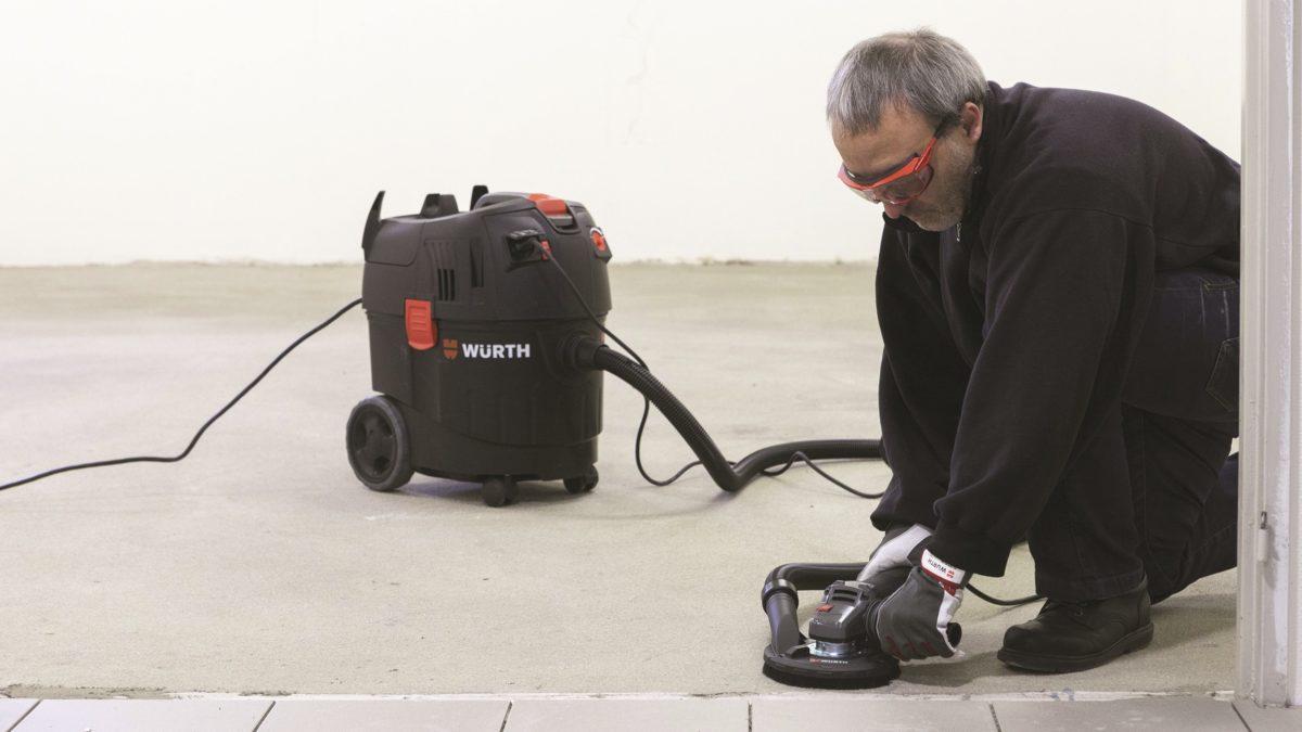 Travaux de finition : TMS et émissions de poussières, Würth attaque le mal à la racine !