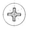 Empreinte cruciforme PH (Philips)