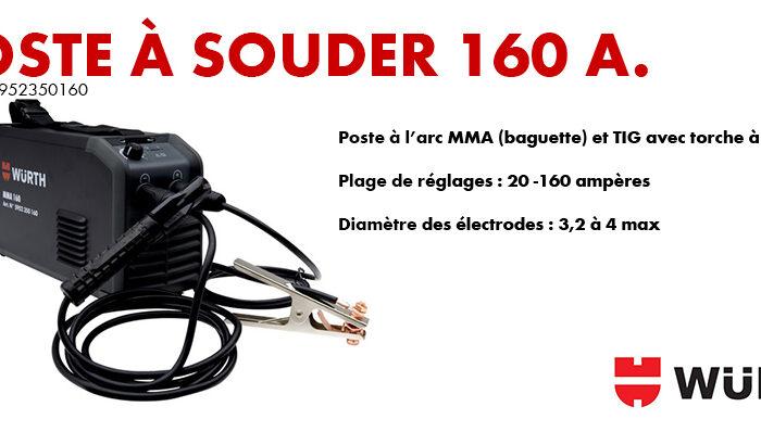 Poste à souder MMA 160