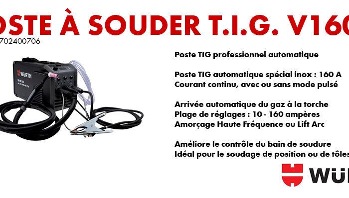 TIG 160 A