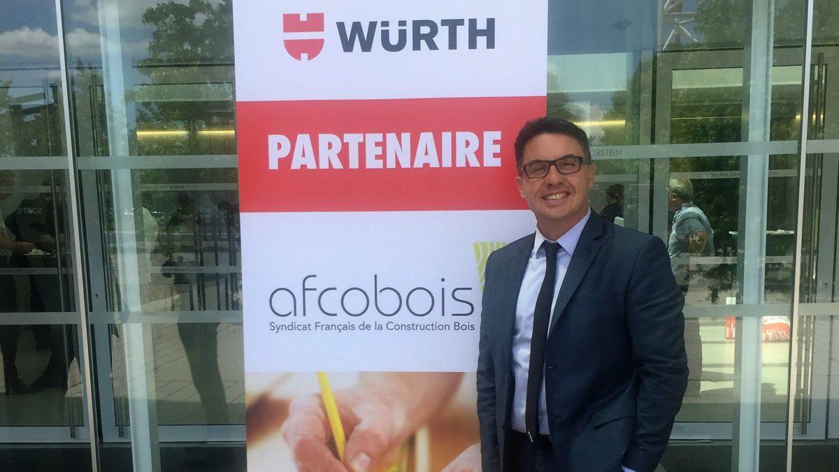 Würth France est partenaire de l'AFCOBOIS