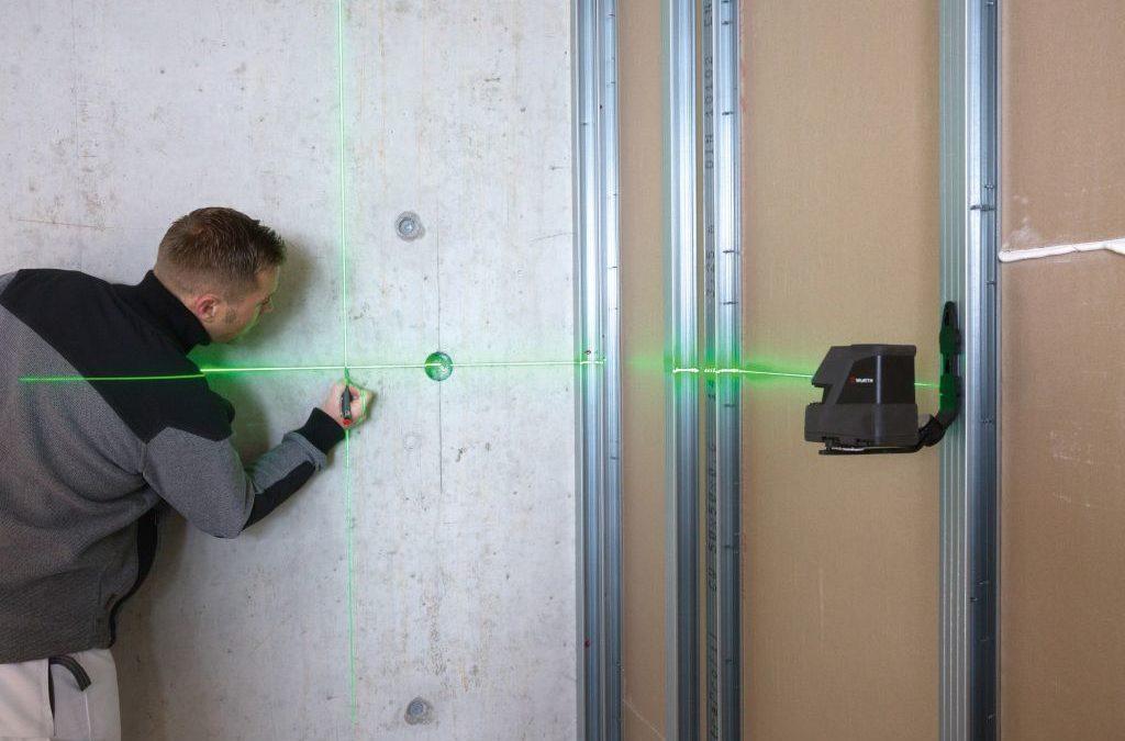 Les différents lasers de chantier : télémètres, lasers rotatifs, points et lignes