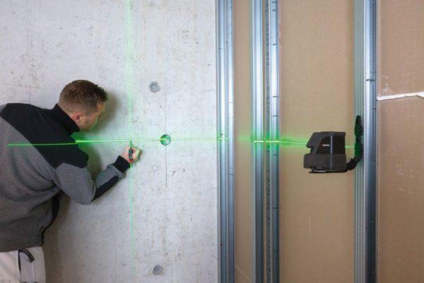Réaliser un niveau avec un laser de chantier