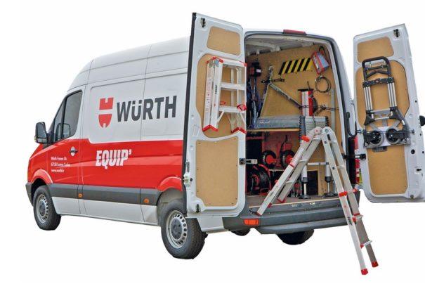 Würth Equip' : fournisseur de solutions d'équipement professionnel !