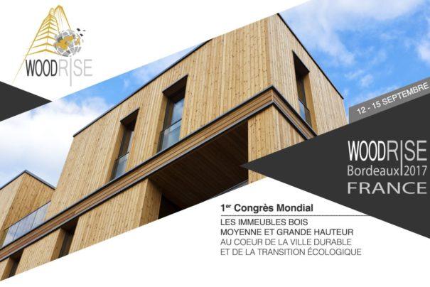 Würth France sera présent à Woodrise, 1er congrès mondial des immeubles bois