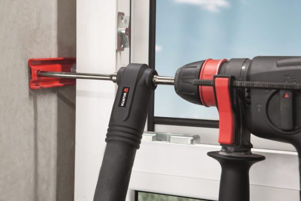 Percez le béton sans poussière avec les forets aspirants Multi SDS-Plus & SDS-Max