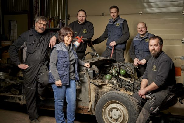 Stoeckel : la passion des véhicules anciens dans les gènes !