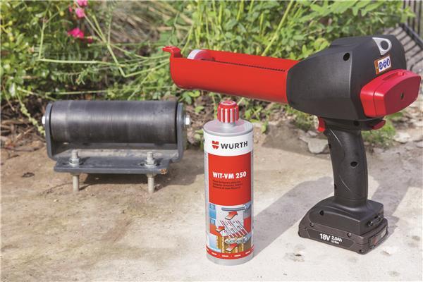 Mèche creuse, mortier chimique, pistolet électrique : la solution complète pour les scellements sur chantier !