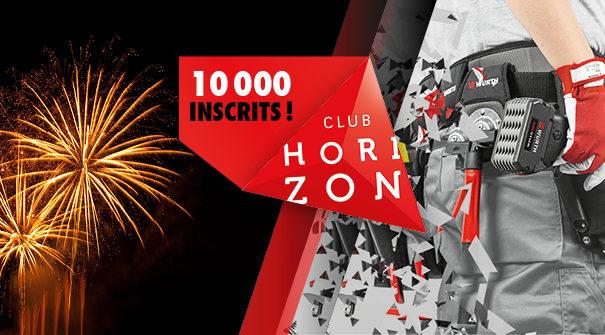 Club Horizon : déjà plus de 10 000 adhérents !