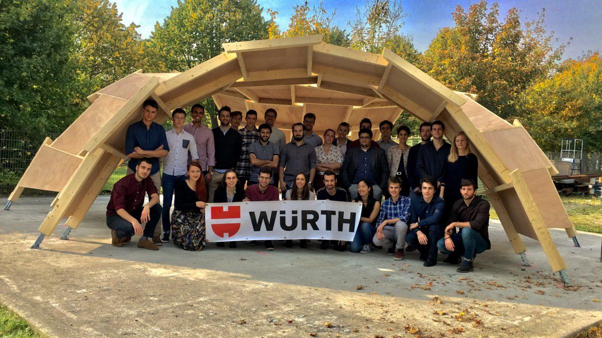 Würth France & l'Ecole des Ponts ParisTech officialisent leur partenariat !