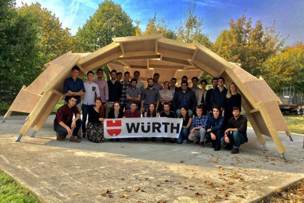 Würth France & l'Ecole Nationale des Ponts et Chaussées officialisent leur partenariat !