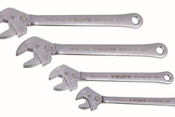 Innovation : clé à molette auto-ajustable à cliquet