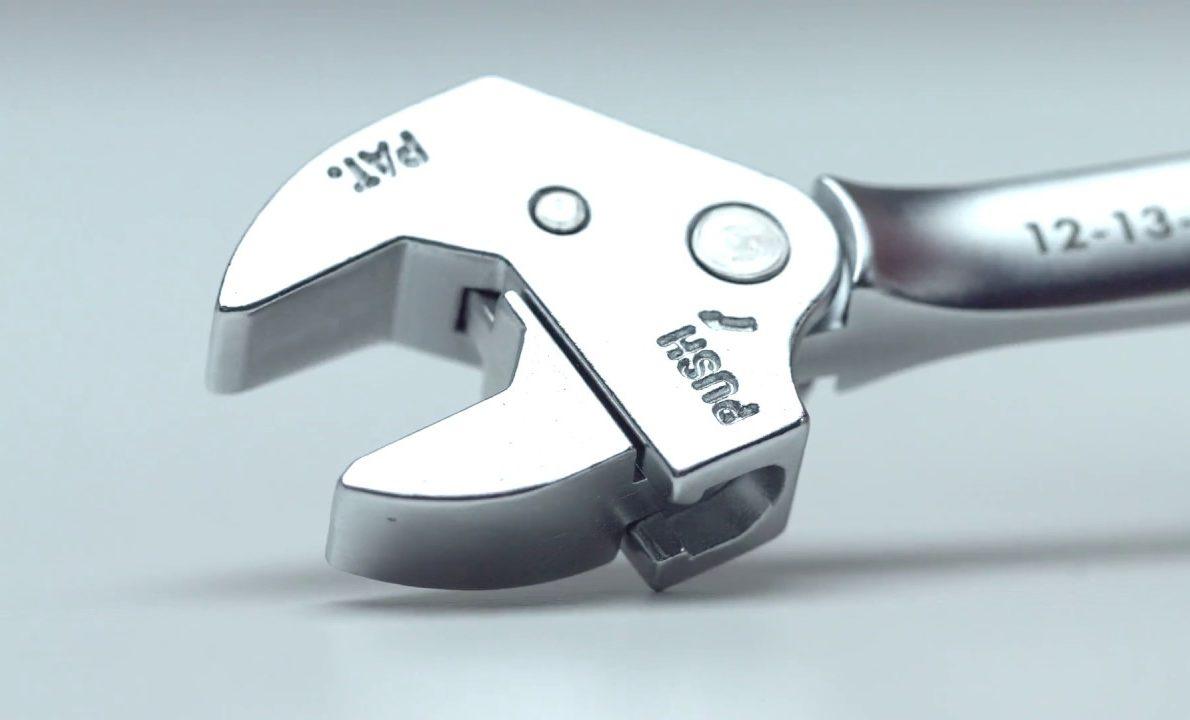 clé à molette auto réglable