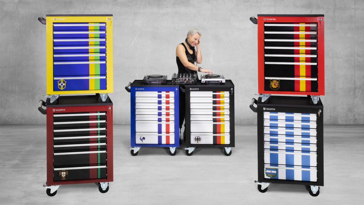 Mix'it : configurez votre servante d'atelier Würth !