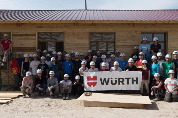 Würth France et le projet Human ISA XVIII au Tadjikistan