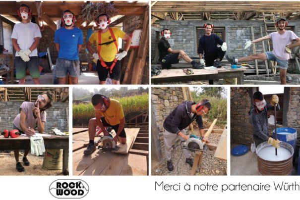 Würth France est partenaire de l'association Rock'n Wood