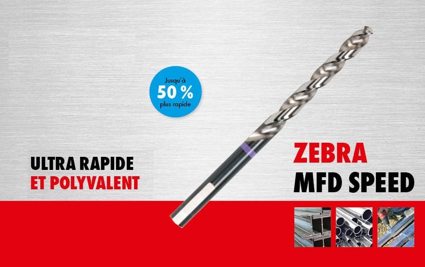 Nouveau produit : le foret métal MFD Speed, conçu pour un perçage ultra-rapide et polyvalent
