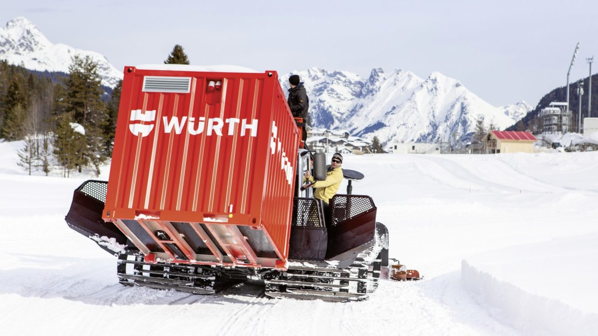 Würth apporte ses solutions aux Championnats du Monde de ski nordique de Seefeld