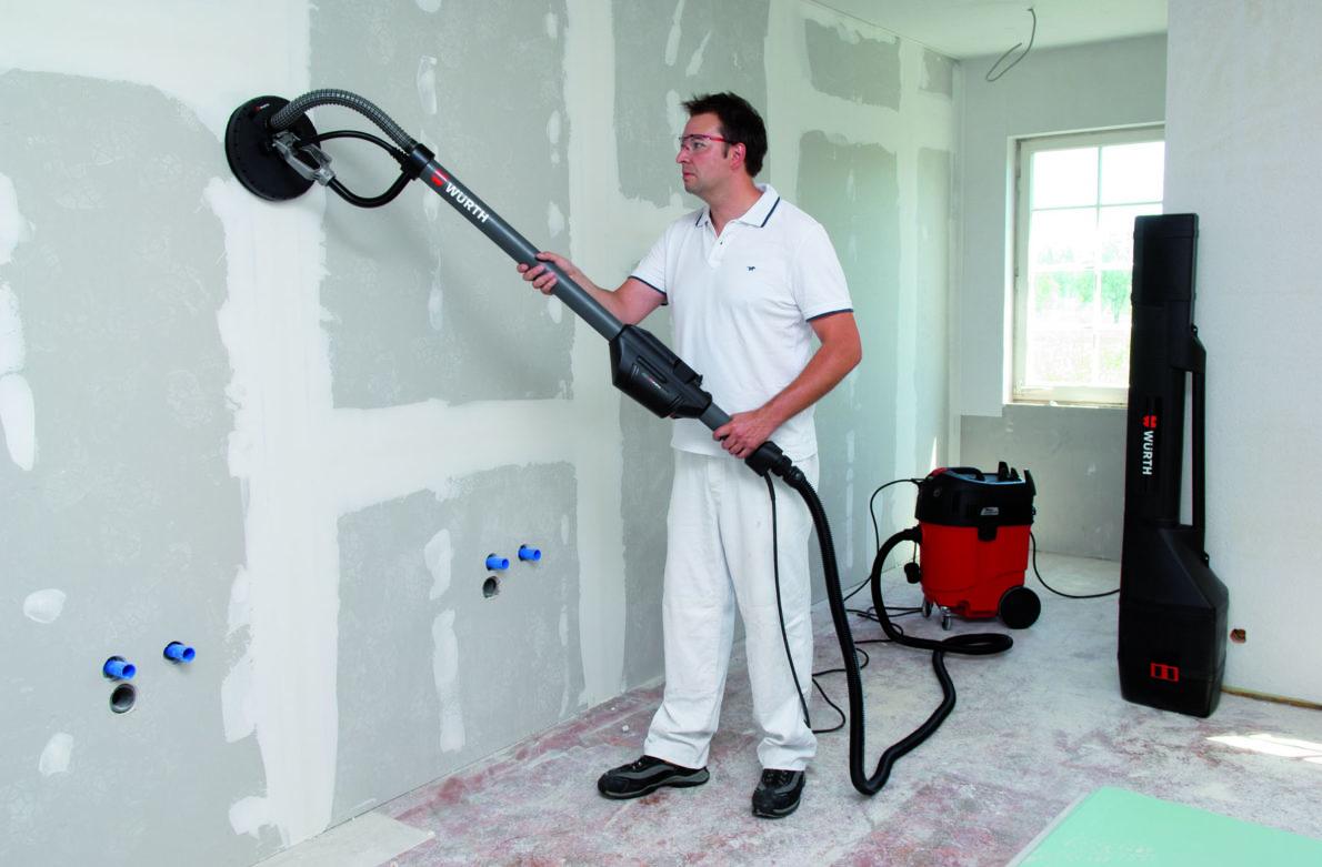 Peintres et plaquistes : vos solutions pour poncer murs et plafonds