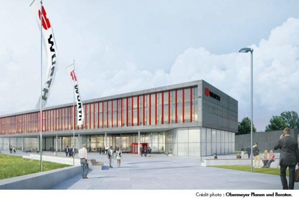 Le Groupe Würth investit dans un Centre d'Innovation