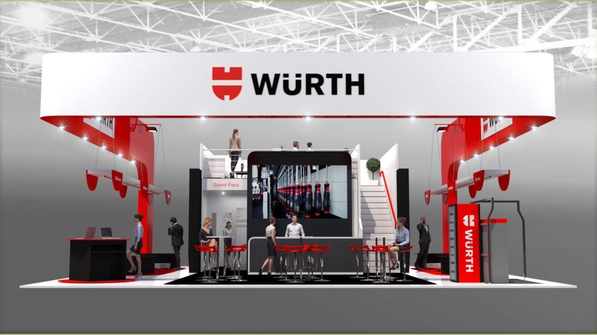 Würth et l'innovation au salon Batimat !