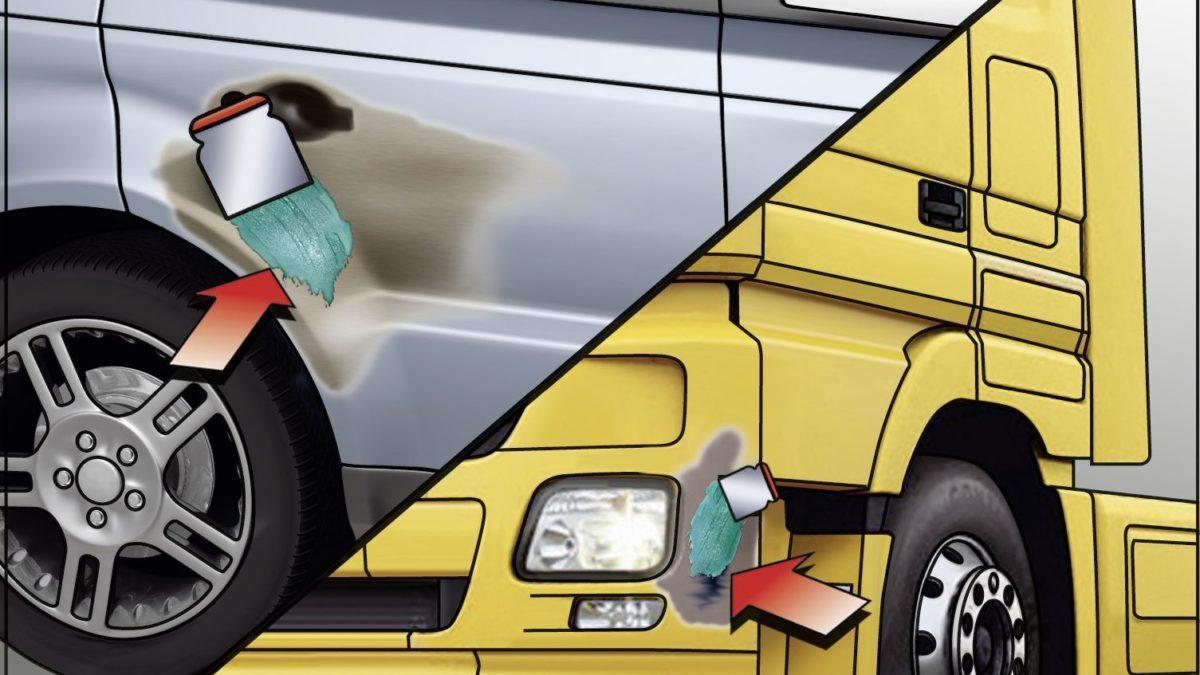 Mastic de carrosserie : comparatif de la gamme Würth