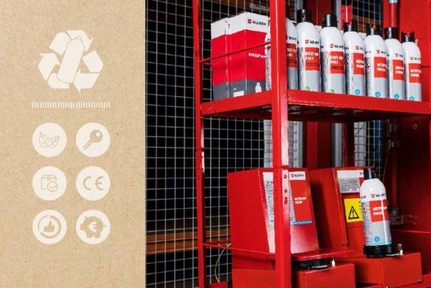 REFILLOmat : l'aérosol rechargeable par Würth