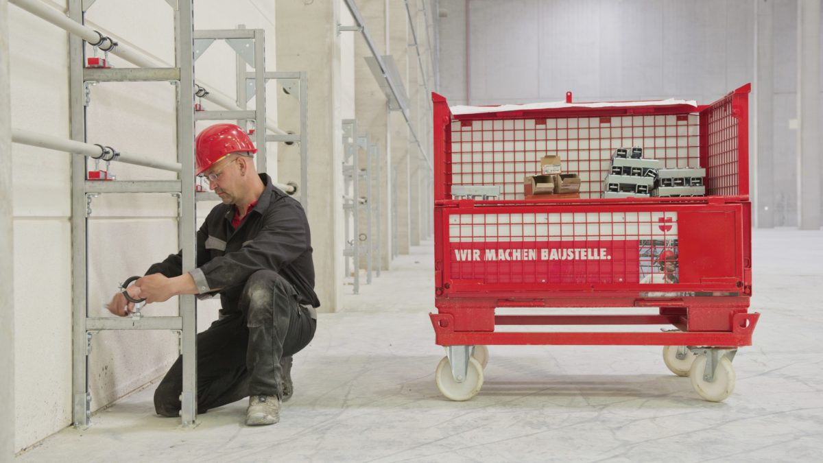 SERVICE BOX :  le compagnon de vos chantiers d'électricité, CVC et sanitaires !