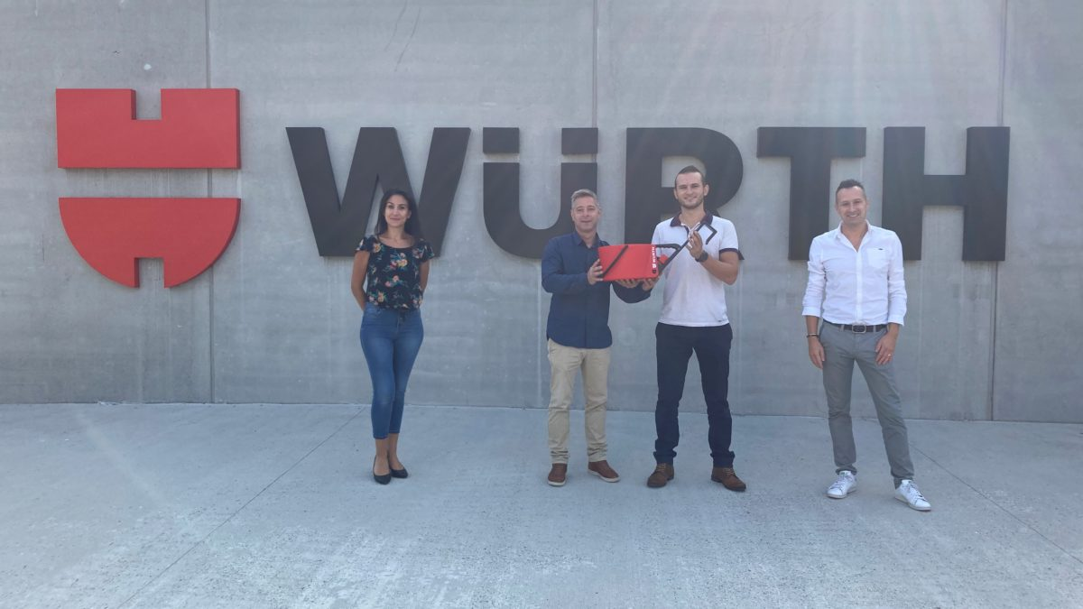 VERTYKO : Würth France soutient l'innovation made in Alsace !