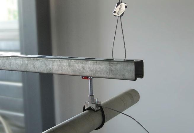 Le supportage Varifix : la suspension par câble