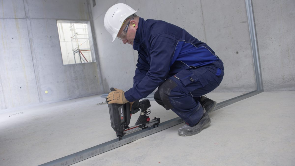 Nouveau cloueur à gaz pour les travaux de finition