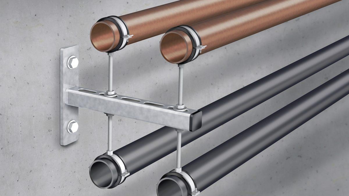 Quel type de collier choisir pour la fixation de tubes et tuyaux ?