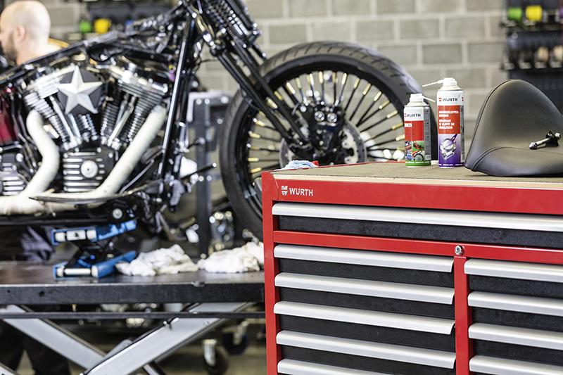 Quels produits pour la révision et/ou la réparation des motos ?