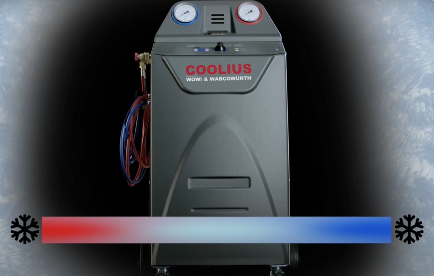 COOLIUS : stations de recharge pour systèmes de climatisation des véhicules
